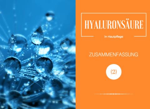Hyaluronsäure in Hautpflege