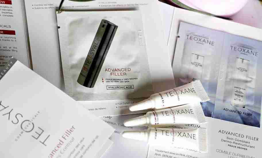 1.Teoxane Proben Samples RHA Serum Advance Filler