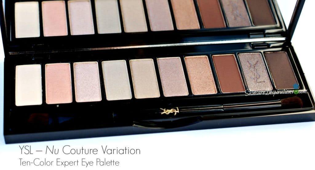 YSL Couture Variation Eyeshadow Palette Nu – Review