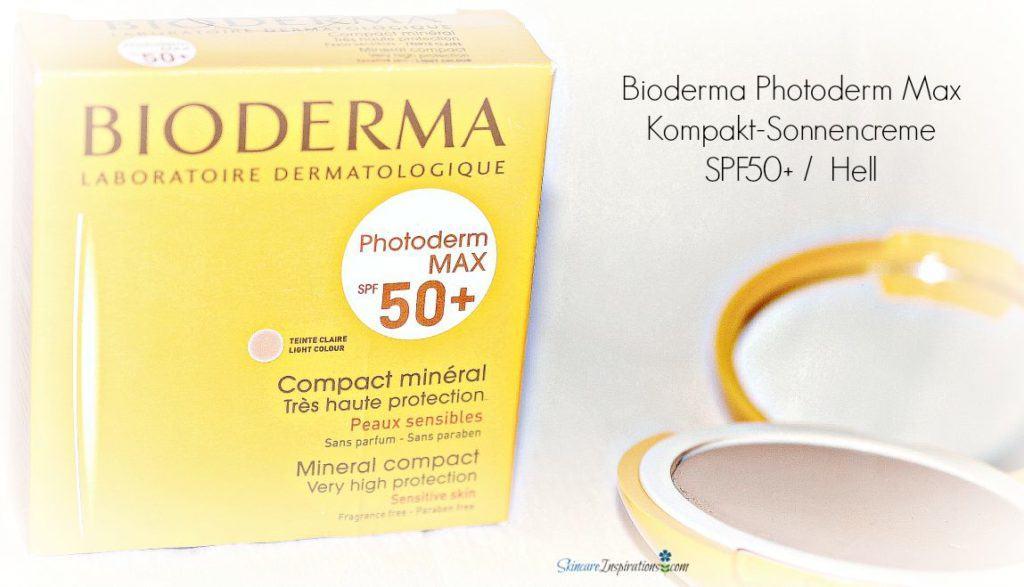 Bioderma Photoderm Max Kompakt-Sonnencreme SPF50+ Hell