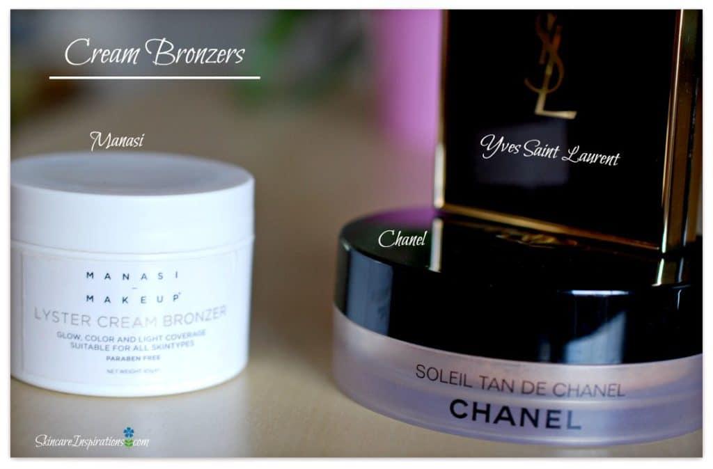 Cream Bronzers im Vergleich: Manasi, Chanel, YSL