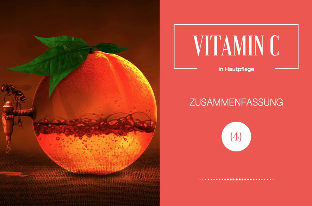 Vitamin C in Hautpflege