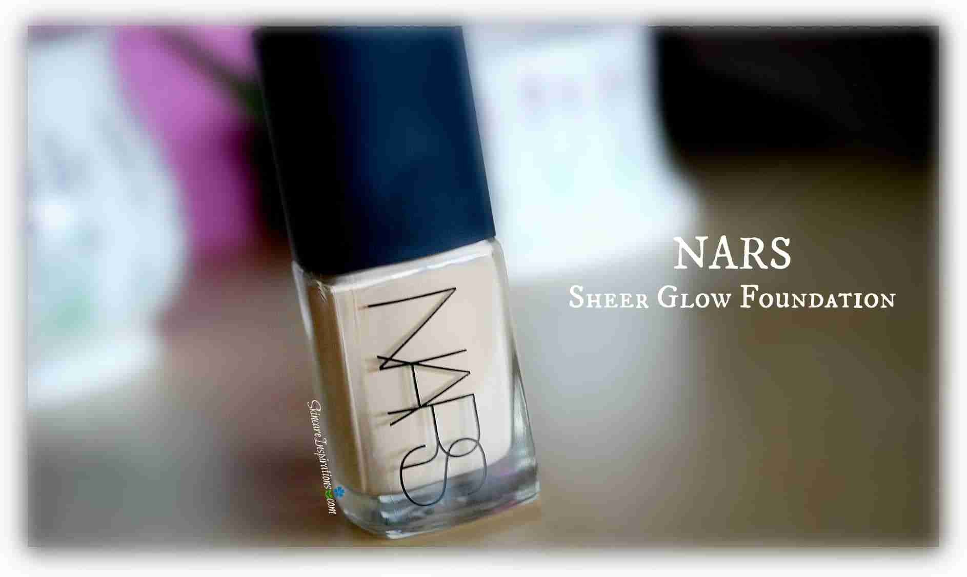 NARS Sheer Glow Foundation Gobi