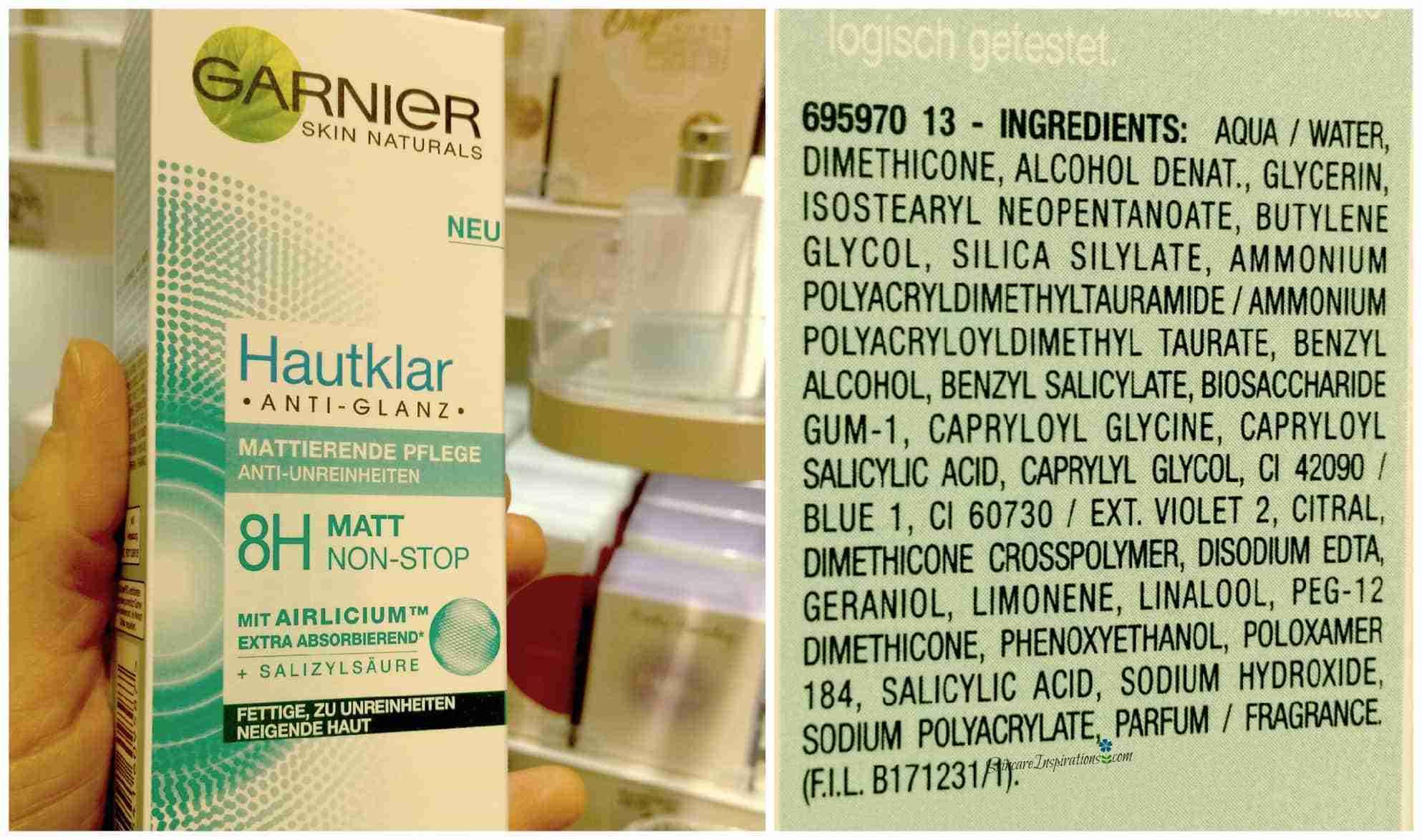 Garnier Hautklar Matt Non Stop Drogeriepflegeprodukte