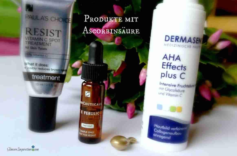 Produkte mit Ascorbinsäure