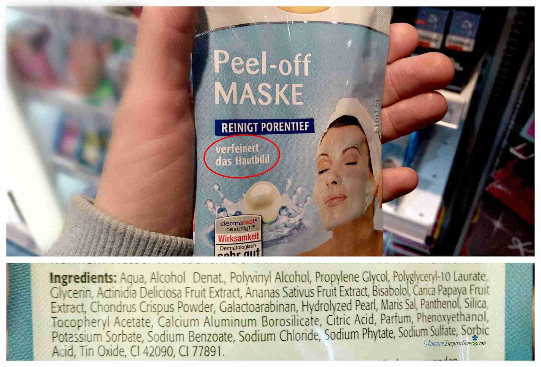 Schaebens Peel Off Maske Drogeriepflegeprodukte