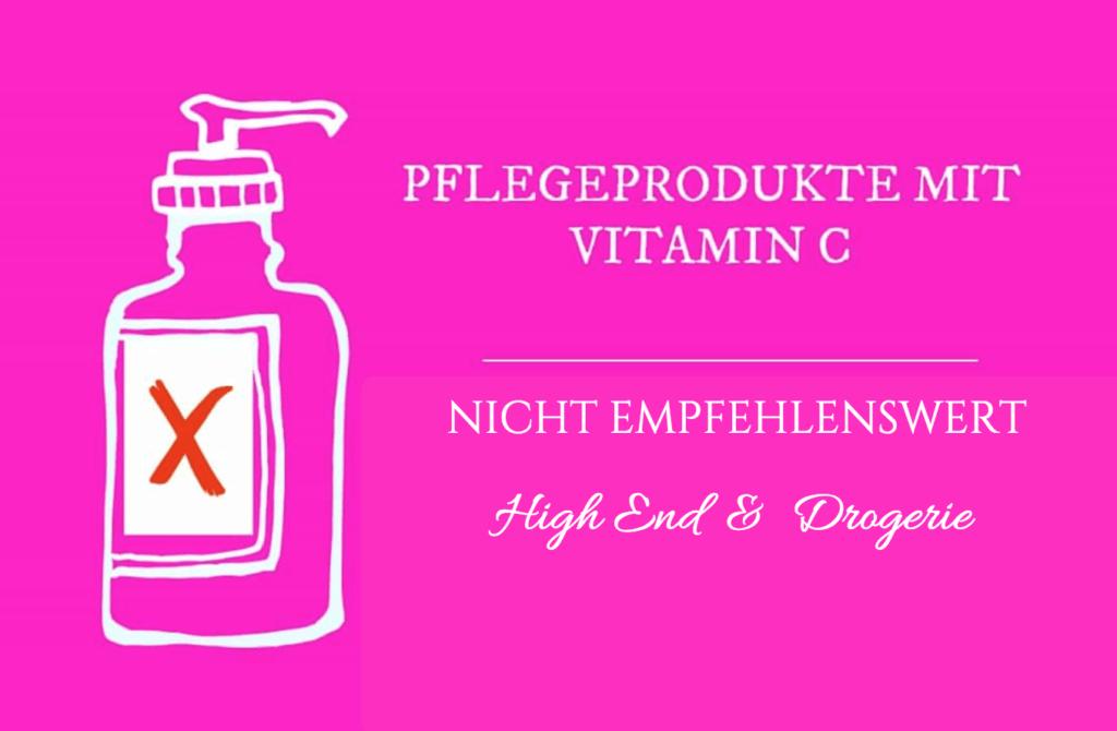 Vitamin C in Pflege nicht empfehlenswert