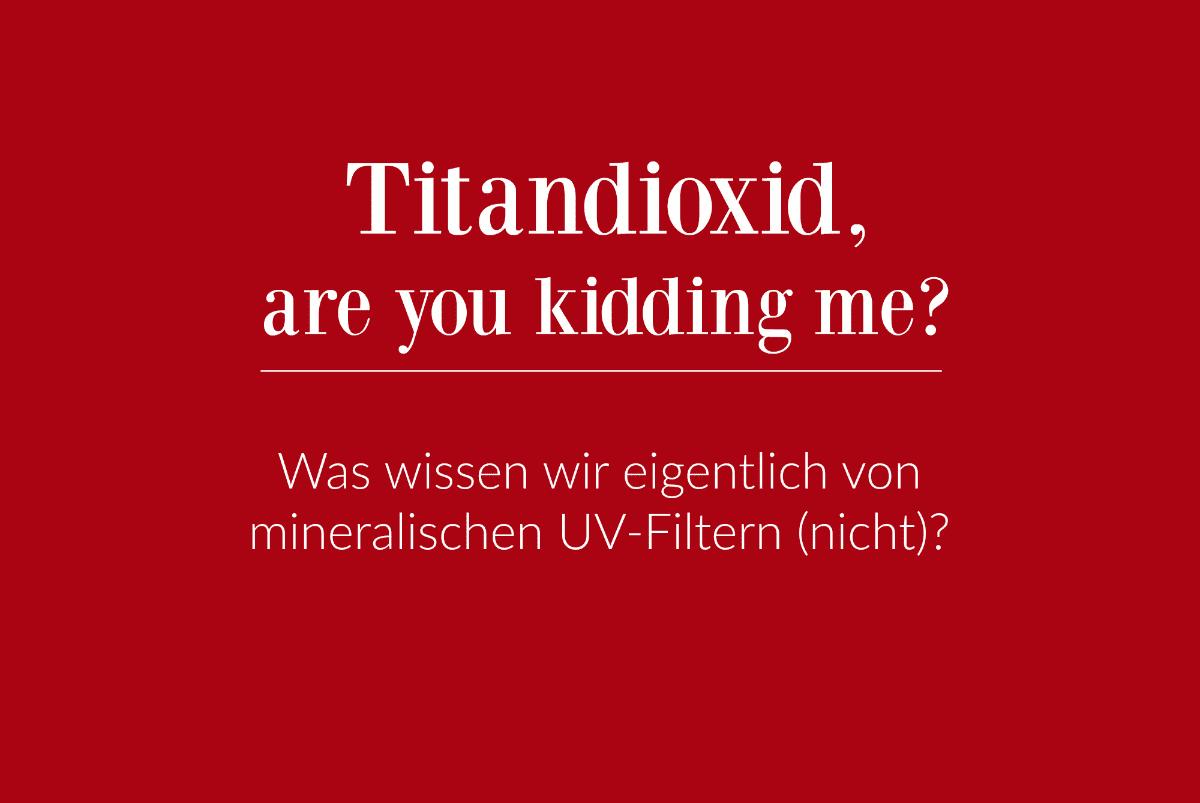 Titandioxid mineralische Filter