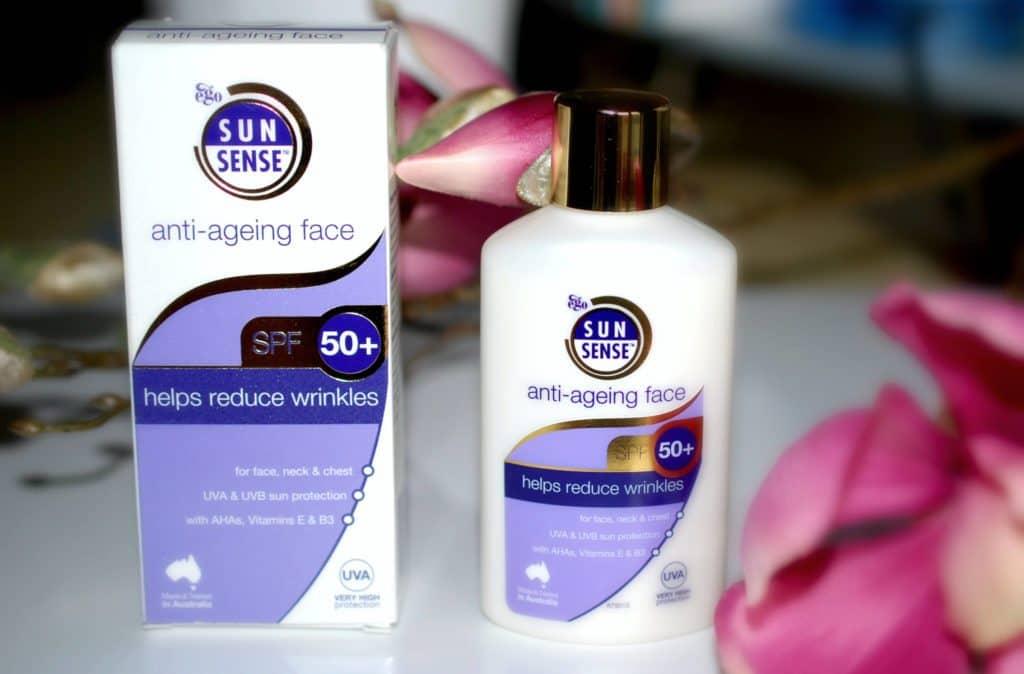 SunSense, Anti Ageing Face SPF50+