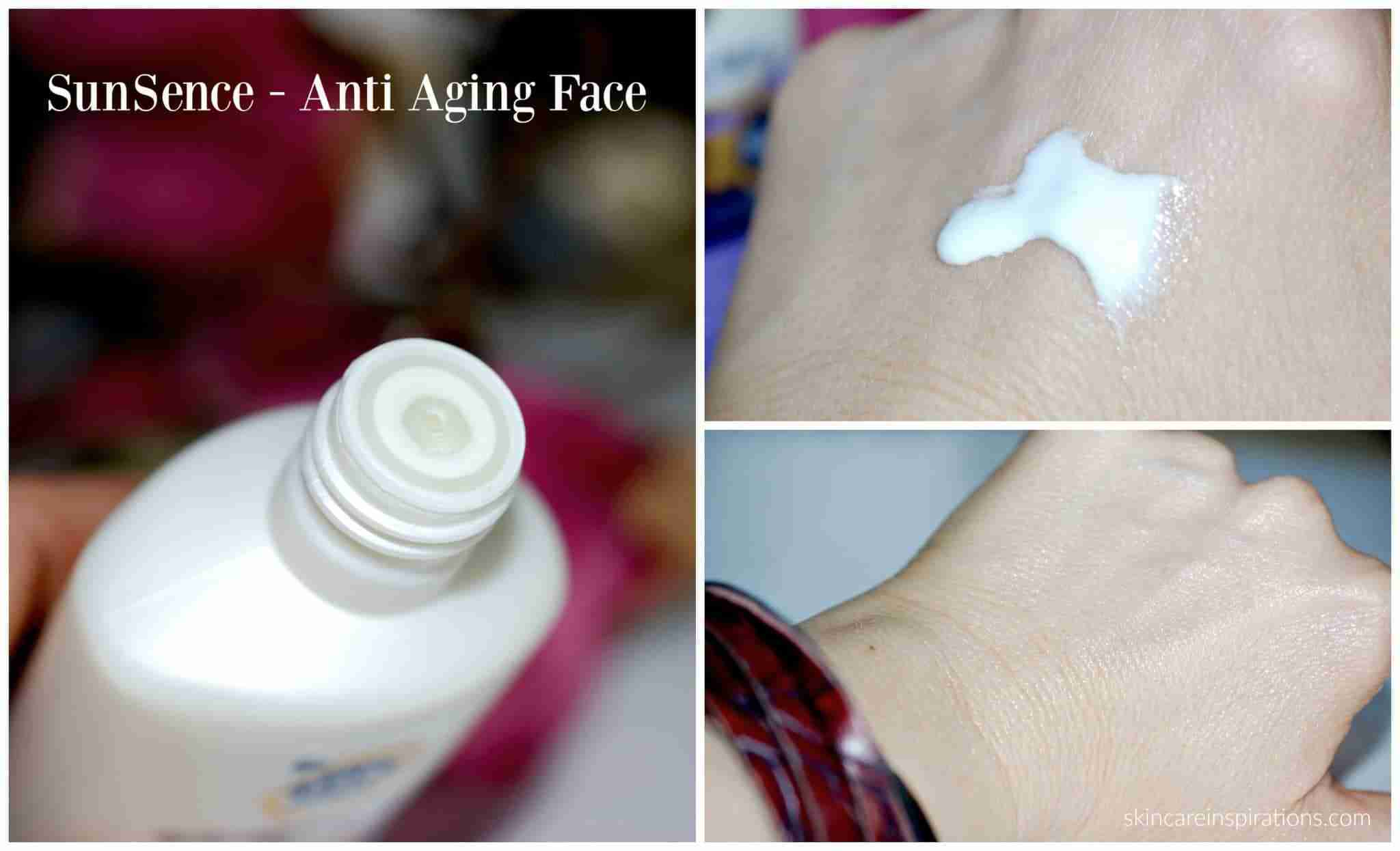 SunSence Anti Aging Face SPF50+