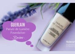 GUERLAIN Parure de Lumière Foundation - Review -