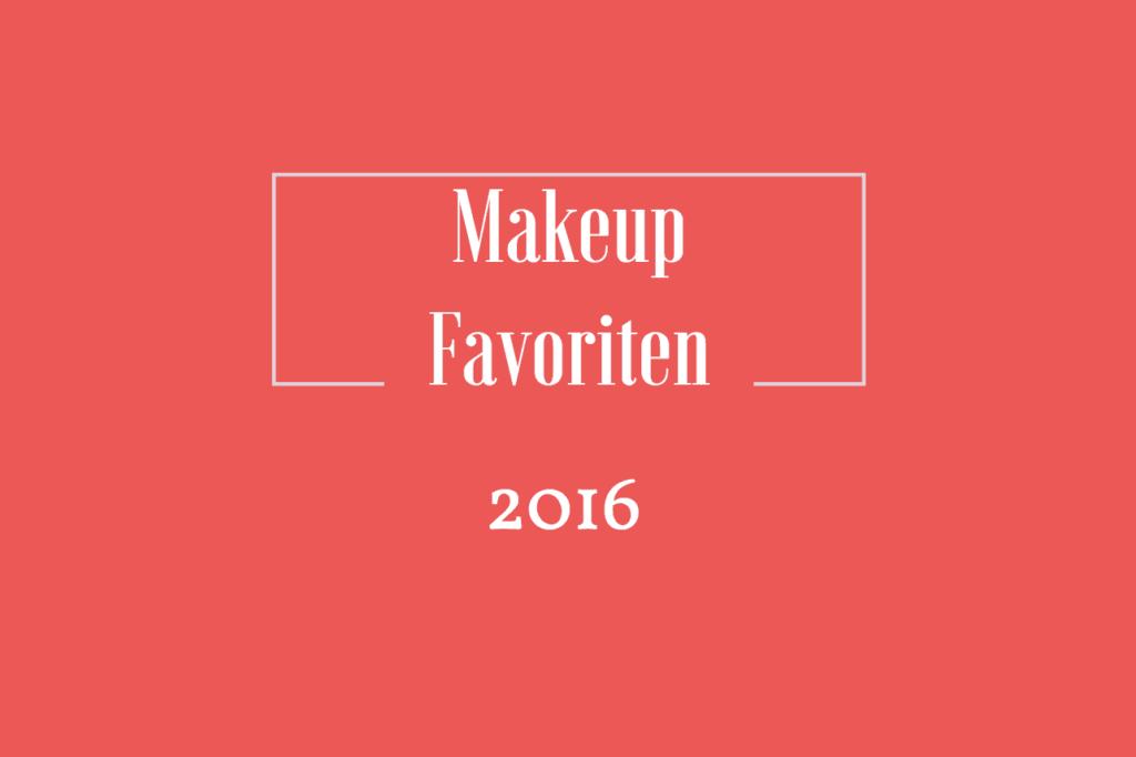 Makeupfavoriten 2016