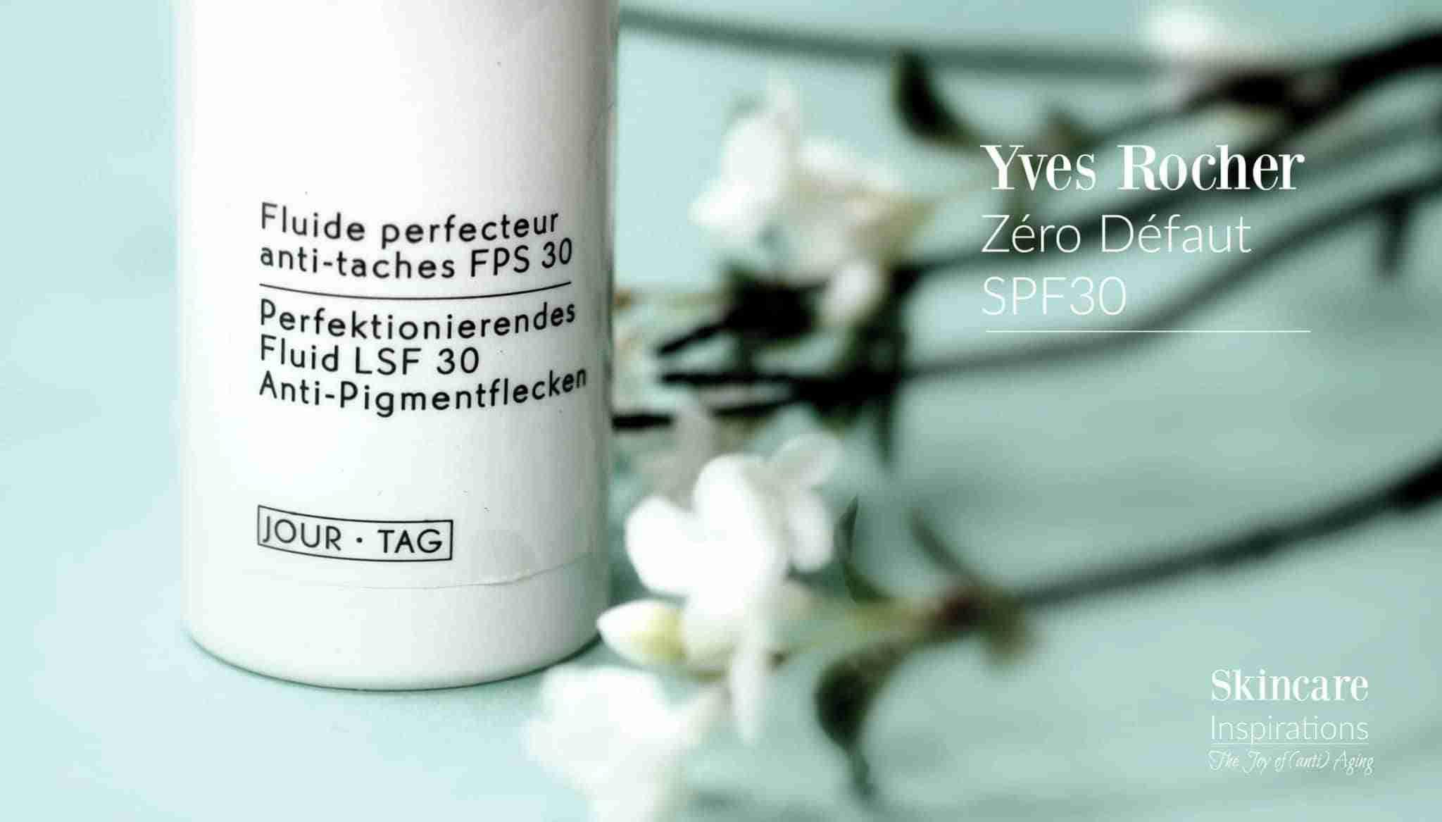 Yves Rocher Sonnenschutz für ölige Haut Zero Defaut Tagespflege SPF30