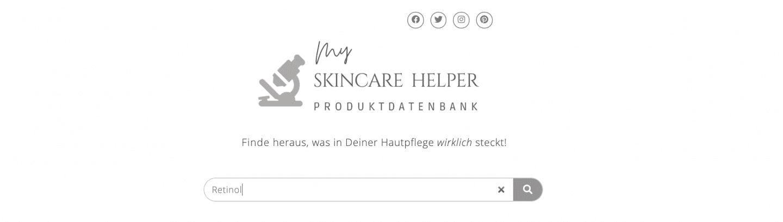 Beste Gesichtscreme mit Retinol Skincare Helper