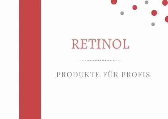 Hochdosierte Retinol Creme – für Profis