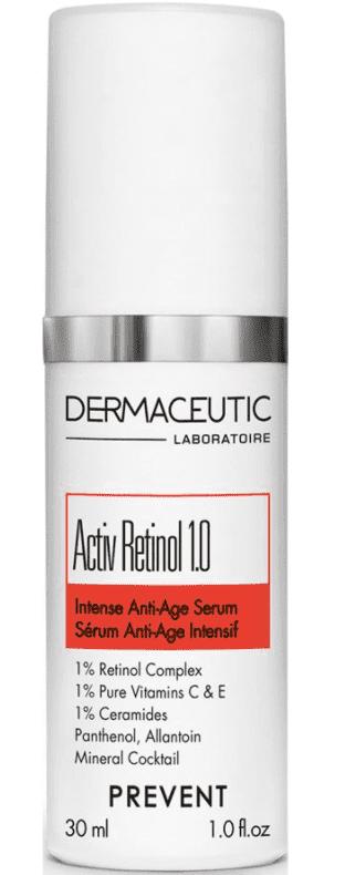 Hochdosierte Gesichtscreme mit Retinol