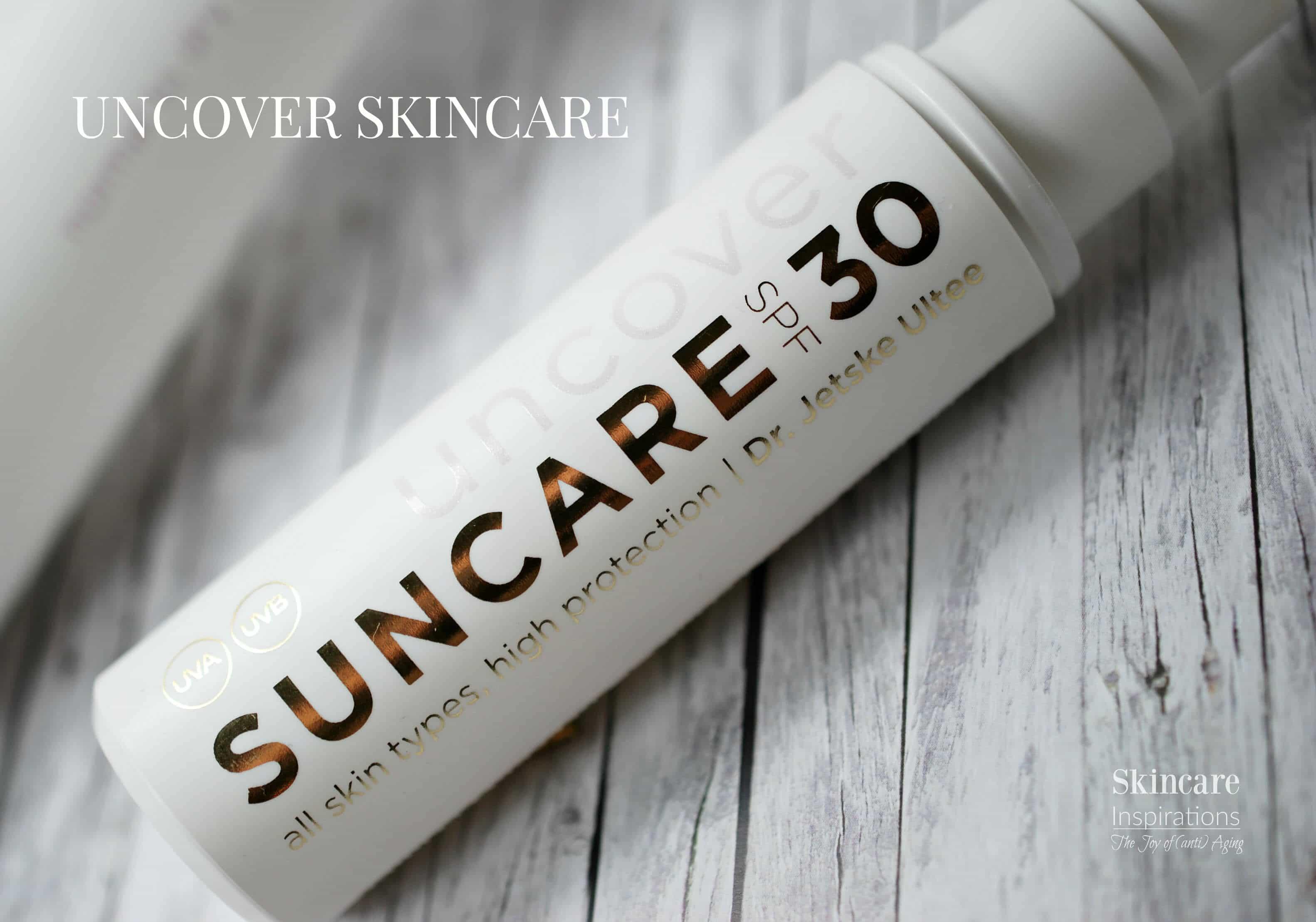 Uncover Skincare Suncare 30