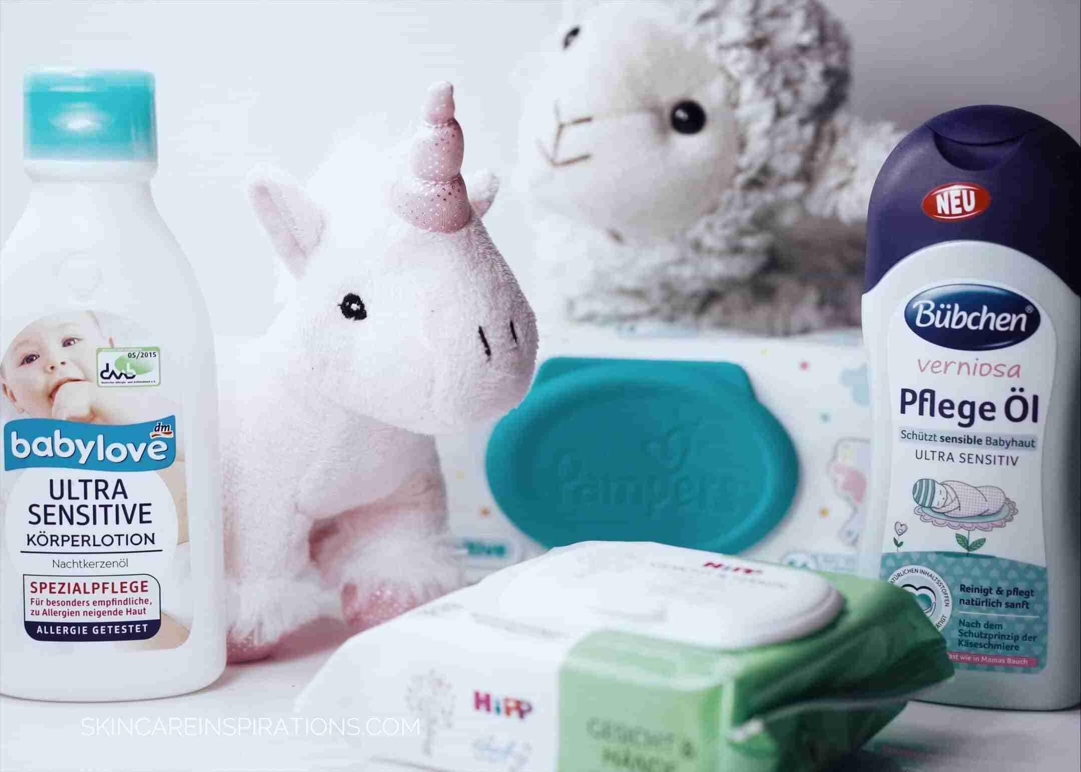 Pflegeprodukte für Babys und Kleinkinder