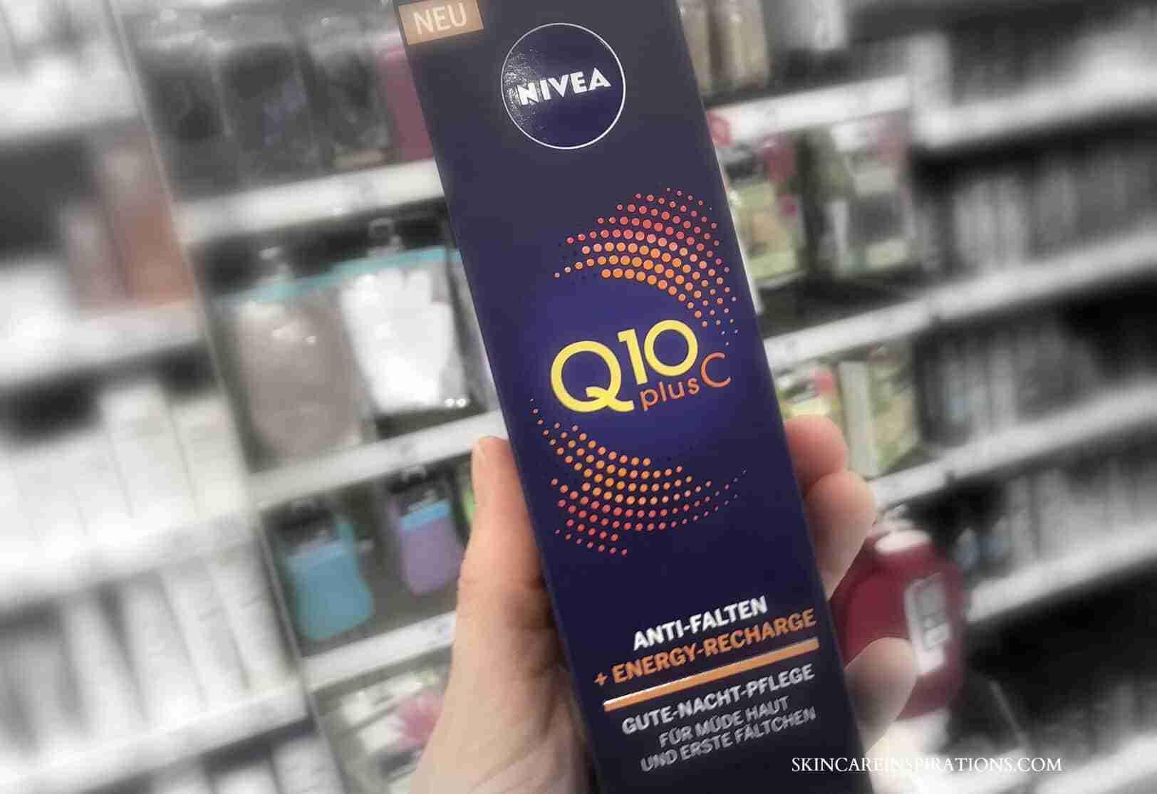 Nivea Q10plusC Nachtpflege
