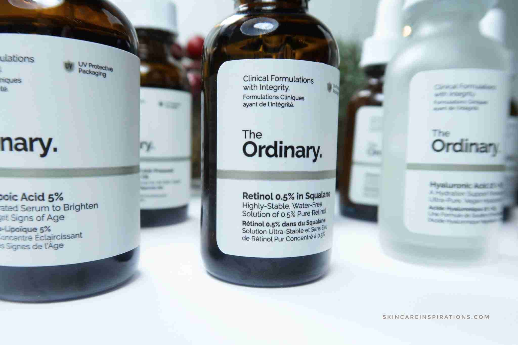 The Ordinary Produkte