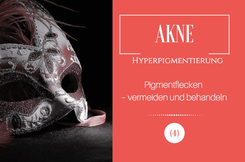 Akne und Hyperpigmentierung Pigmentflecken