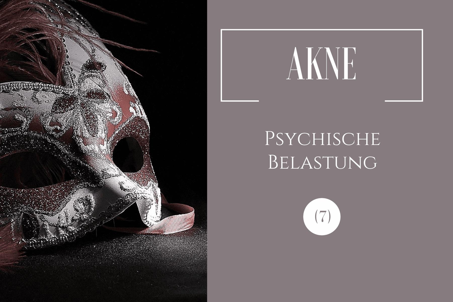 Akne und Stress – psychosozialer Aspekt von Hauterkrankungen