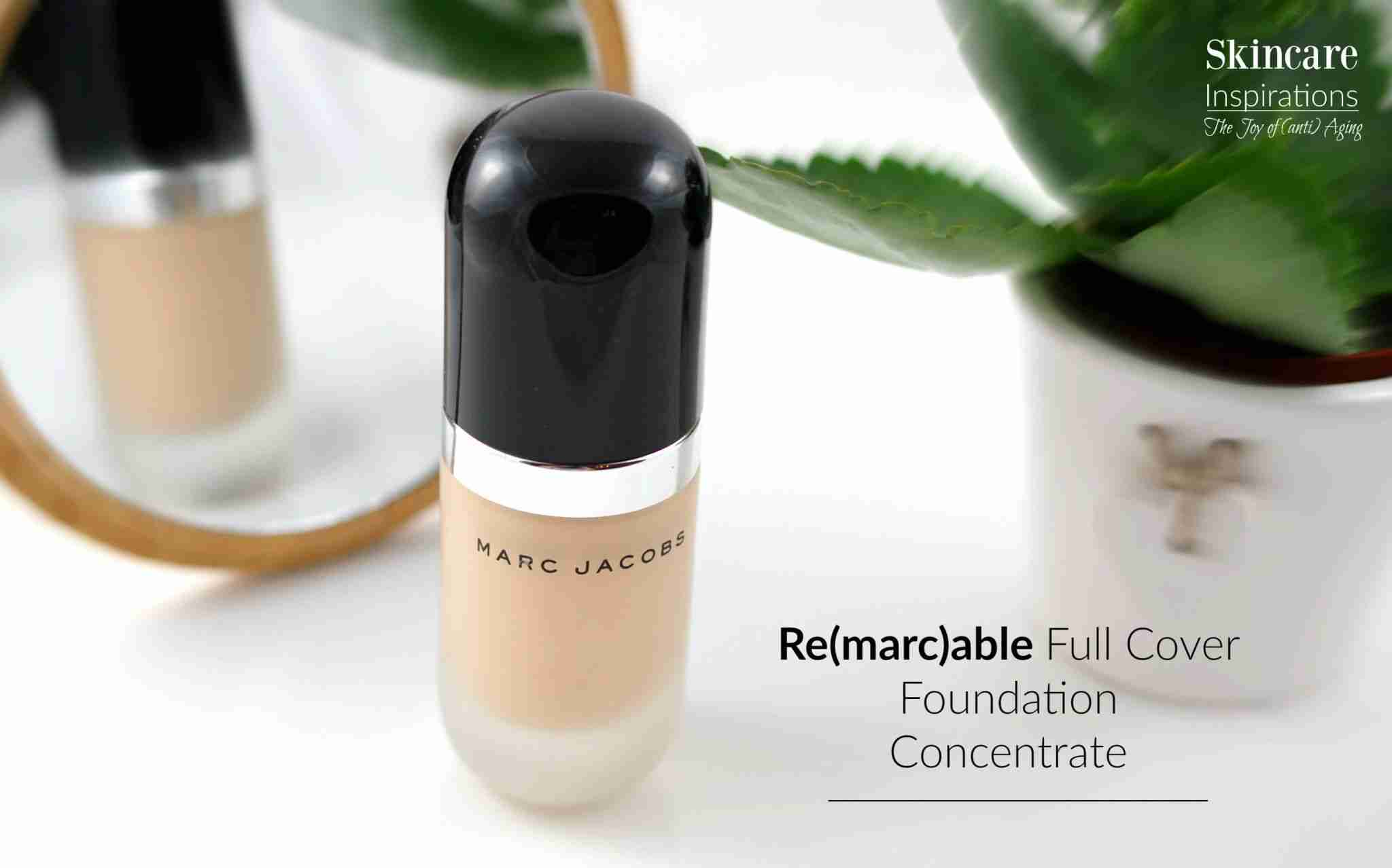 Marc Jacobs Remarcable Full Cover Foundation Concentrate Review