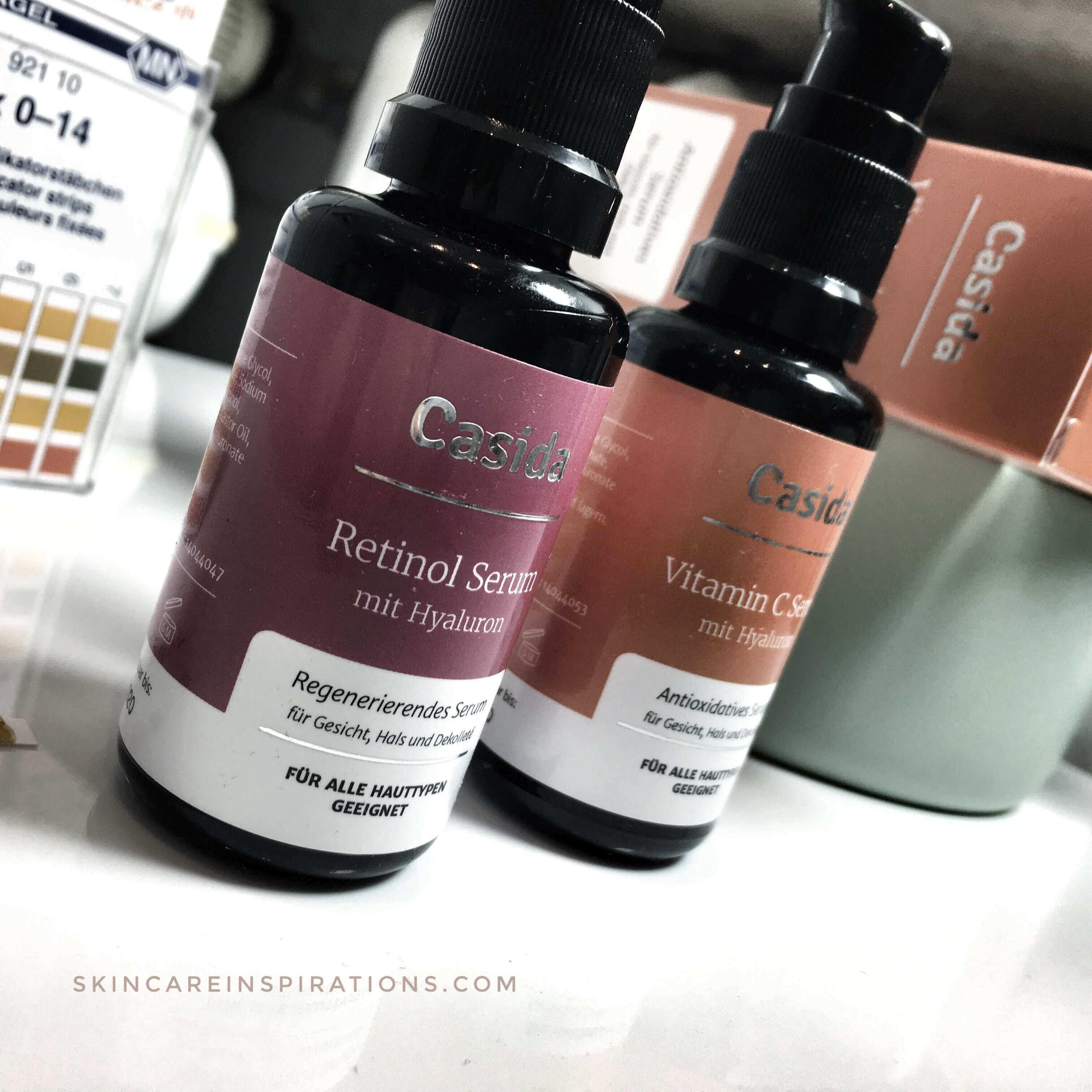 Casida Seren Vitamin C Retinol