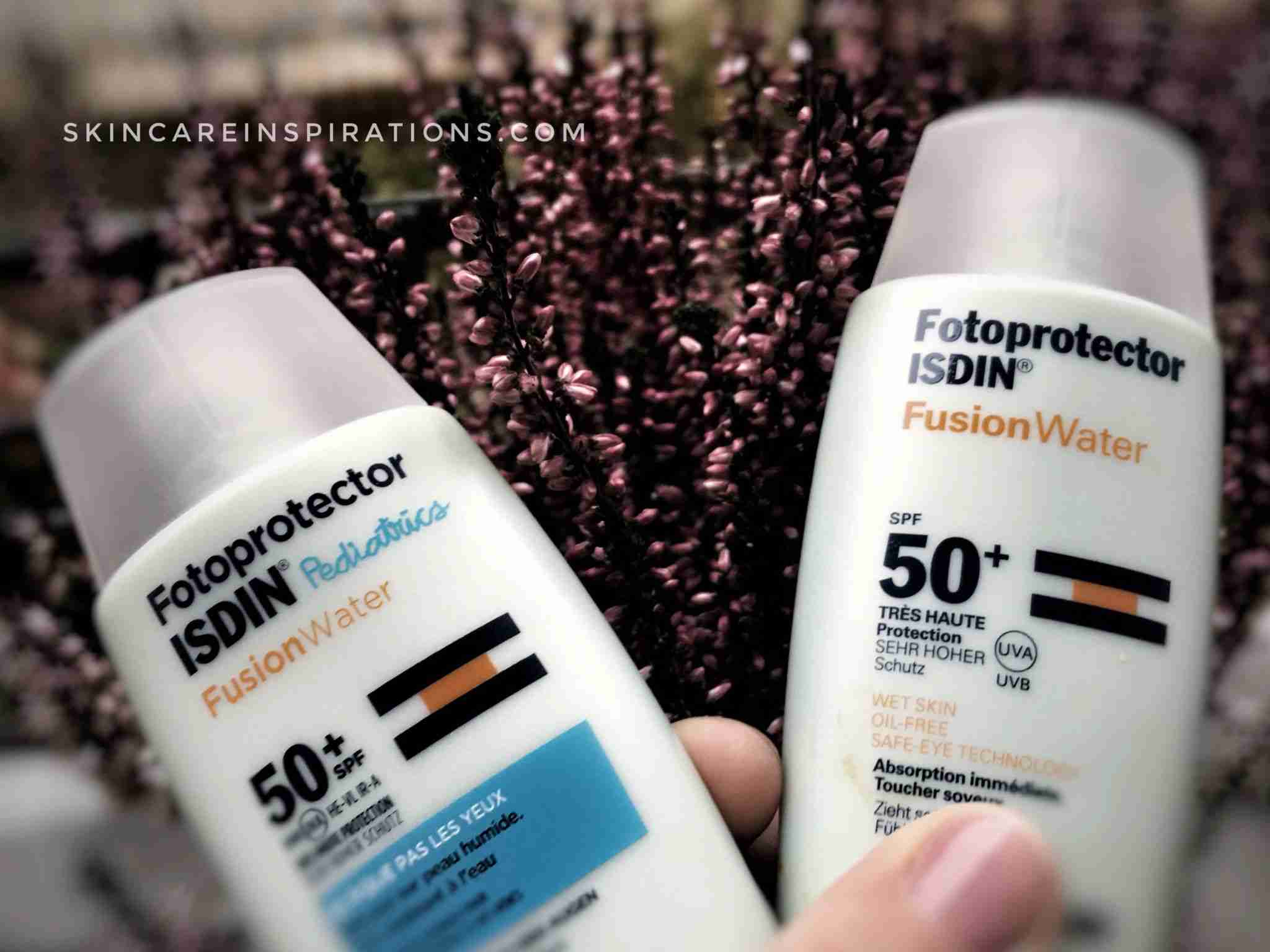 ISDIN Fusion Water Pediatrics SPF 50+ Review