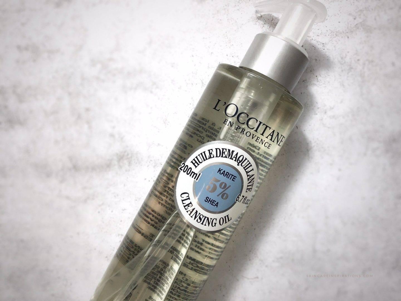 LOccitane Karite Reinigungsöl cleansing oil