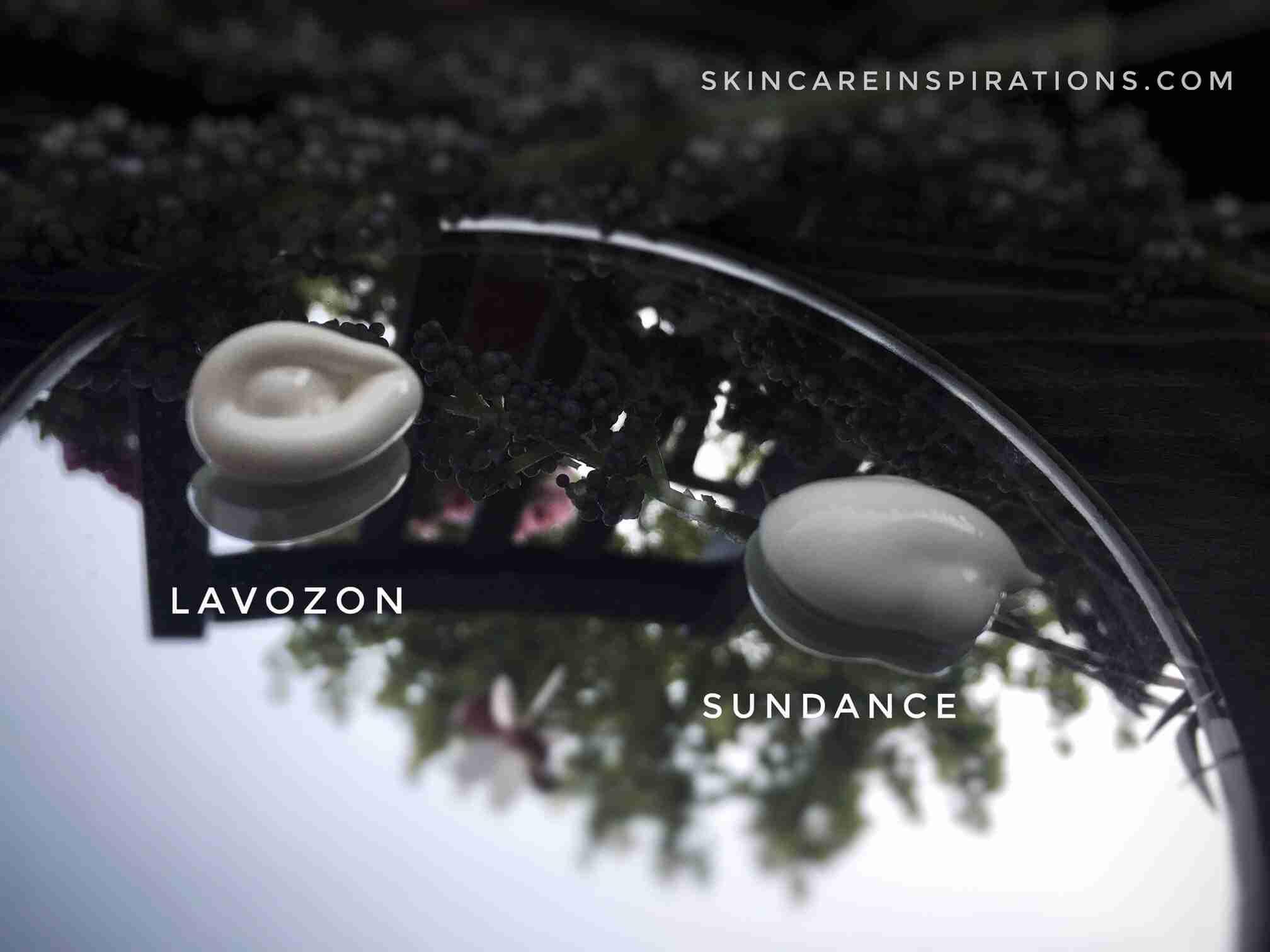 die beste Sonnencreme aus der Drogerie Lavozon Konsistenz