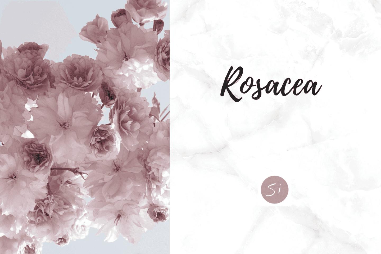 Rosacea Behandlung Ernährung Hautpflege