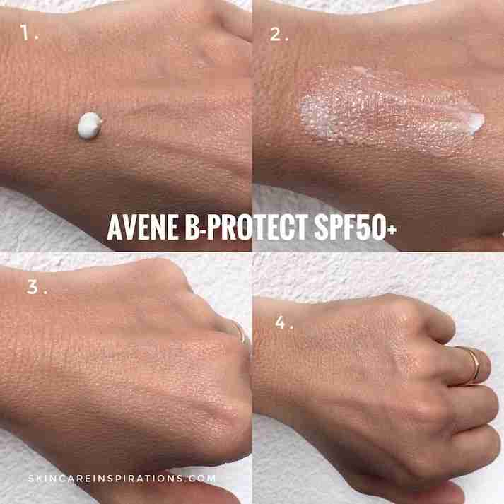 Avene B Protect SPF50+ Swatches