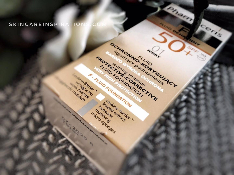 Sonnencreme und Makeup Foundation Pharaceris packeging