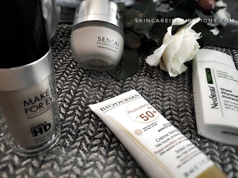 Sonnencreme und Makeup Foundation_3
