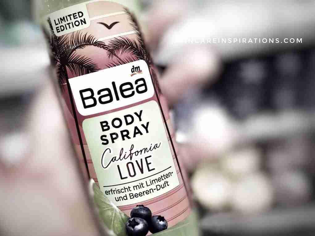 Thermalwasser Gesichtsspray Bodyspray BALEA