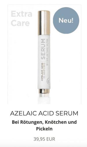 Azelainsäure Creme Serum Uncover Skincare