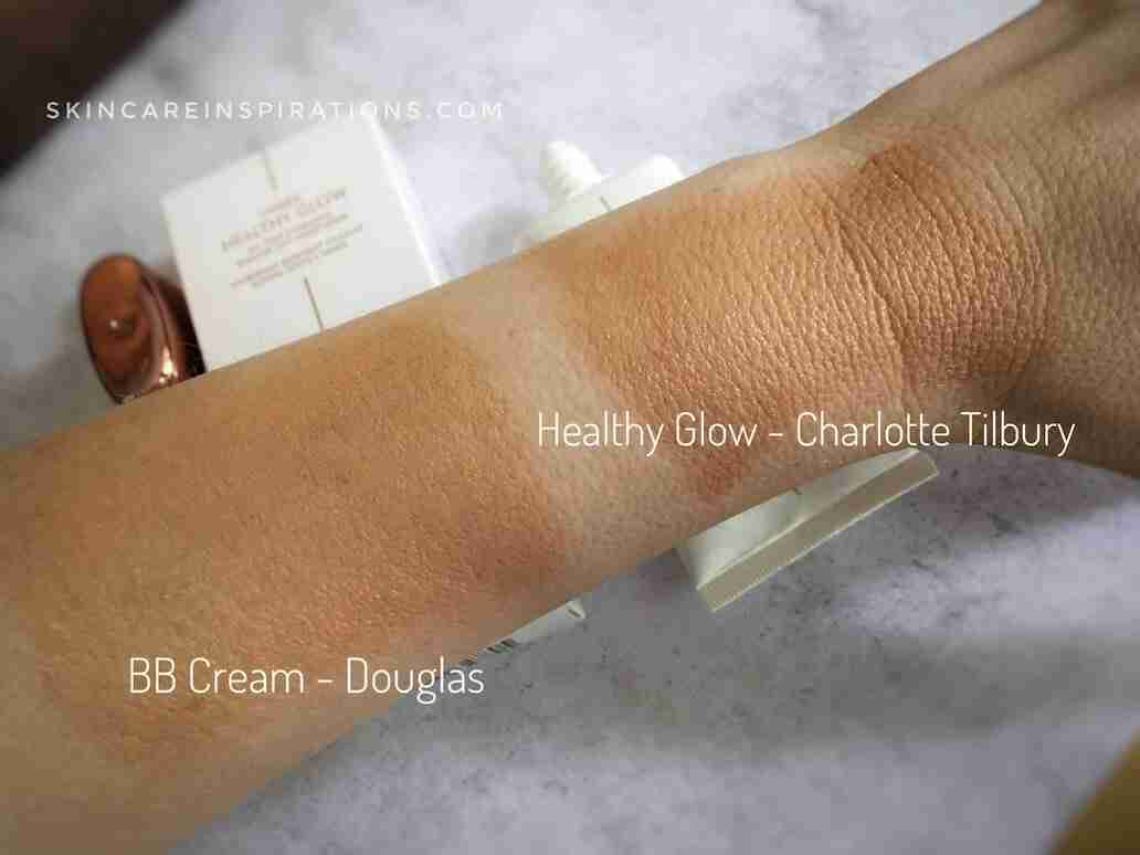BB Cream von Douglas Medium Swatch