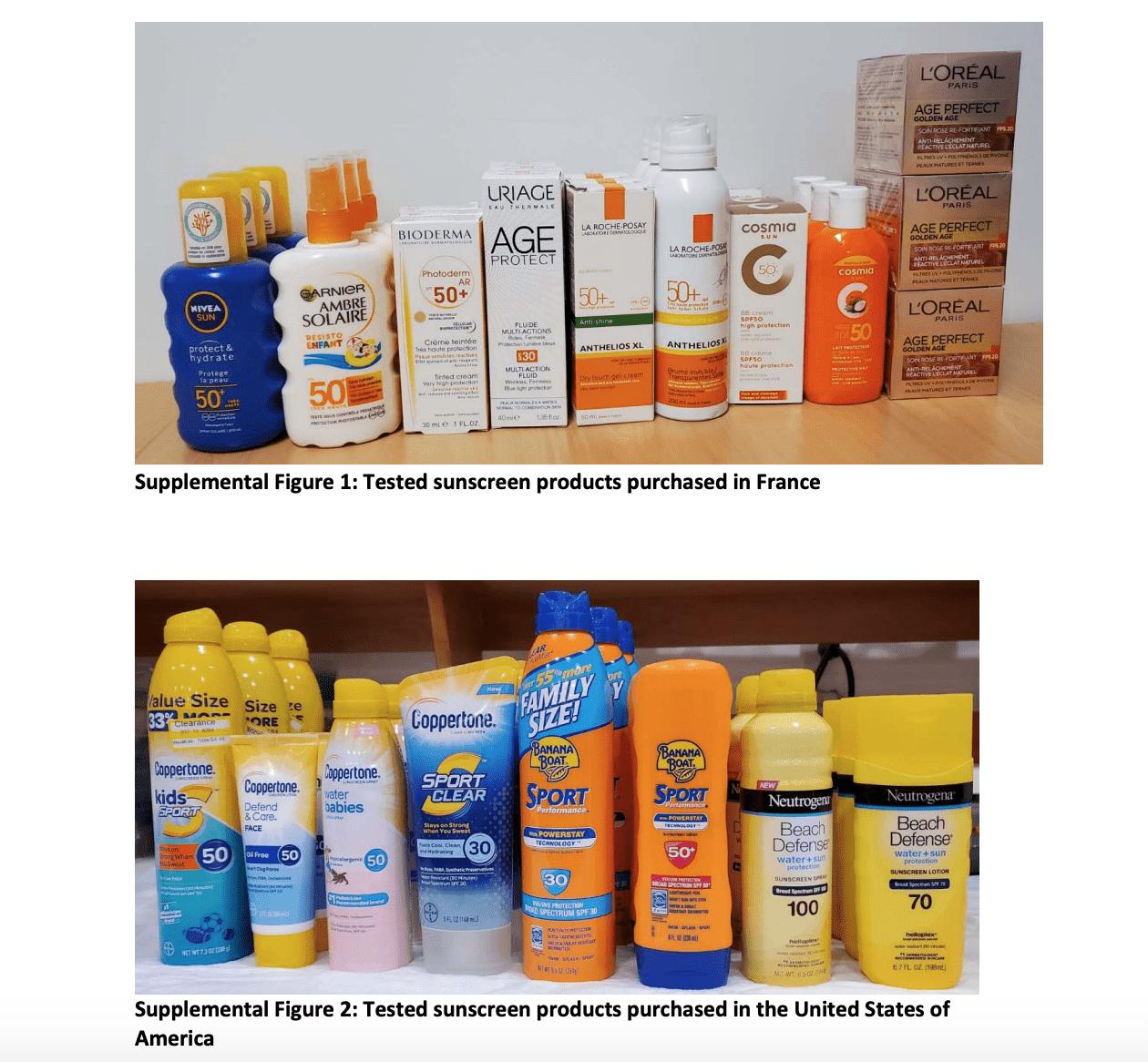 Sunscreen with Octocrylene Benzophenone