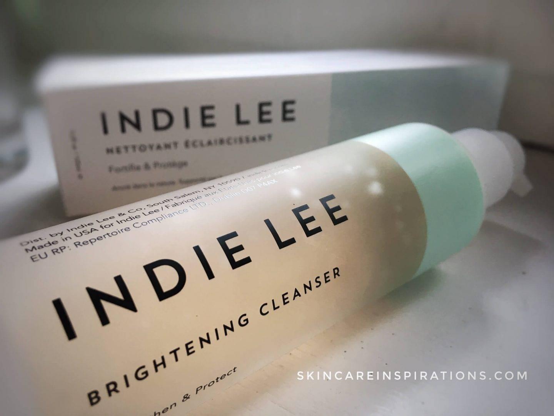Meine Hautpflegeroutine Indie Lee Brightening Cleanser