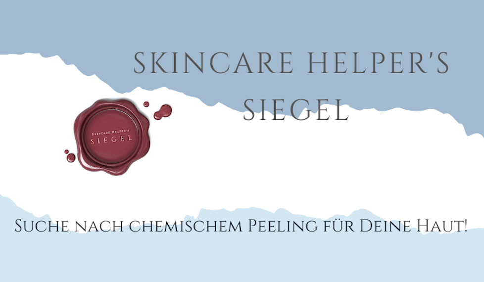 Chemisches Peeling Skincare Helper