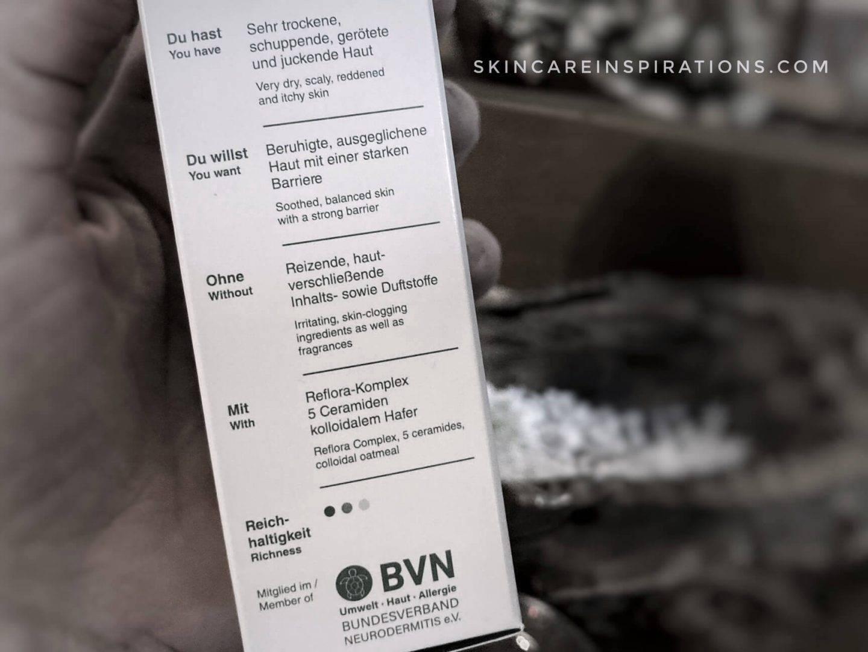 Reflora Mikrobiom Hautpflege für atopische Dermatitis