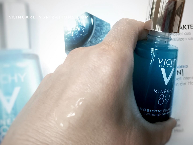 Vichy MINERAL 89 Probiotic Fractions Konsistenz