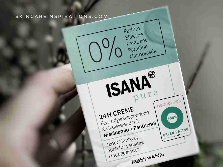 Rossmann Isana Pure 0% Feuchtigkeitscreme